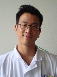 Sylvain Ho, diététicien aux HUG. (photo HUG)
